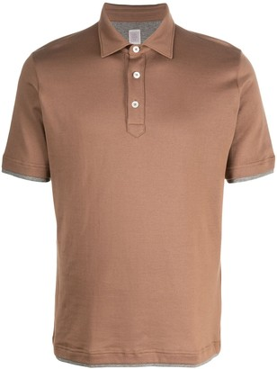 Eleventy Double Layer Polo Shirt