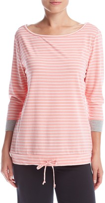 Karen Neuburger Women's Long Sleeve Top Pajama Shirt Pj