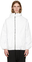 Ueg White Tyvek® Hooded Jacket