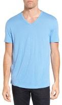 Star Usa John Varvatos John Varvatos Collection Pintuck Detail V-Neck T-Shirt