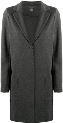 Majestic Filatures One-Button Single-Breasted Coat