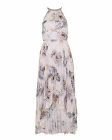 Ted Baker Daniiey Woodland Pleated Maxi Dress