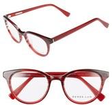 Derek Lam Women's 50Mm Glasses - Blue Cloud