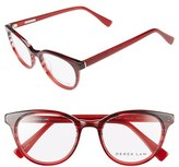 Derek Lam Women's 50Mm Optical Glasses - Blue Cloud