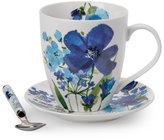 Pfaltzgraff 3-Piece Blue Floral Coffee Set