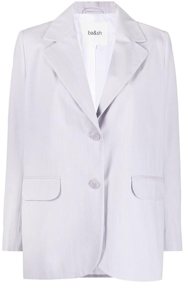Thumbnail for your product : BA&SH Alea single-breasted blazer