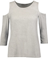 Tart Collections Albany Cold-Shoulder Stretch-Jersey Top