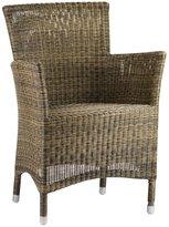 Design MIX Furniture Woven Fiber Patio Chair