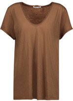 Helmut Lang Cotton And Cashmere-Blend Jersey T-Shirt