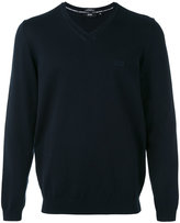 HUGO BOSS v-neck jumper - men - Cotton - M