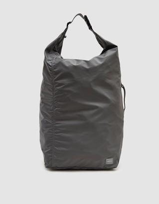 Porter Yoshida & Co. Porter-Yoshida & Co. Large Flex Bonsac Tote Bag in Grey
