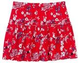 Petit Bateau Girls print skirt