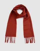 Norse Projects Norse x Johnstons Lambswool Scarf in Ochre