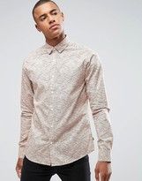 ONLY & SONS Shirt in Slim Fit with All Over Print