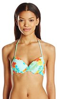 Hobie Women's Tropical Locales Underwire Bikini Top