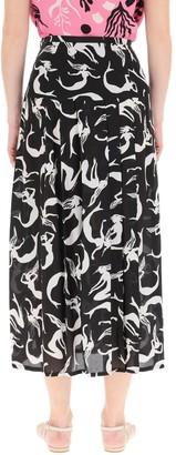 Rixo Nancy Midi Skirt