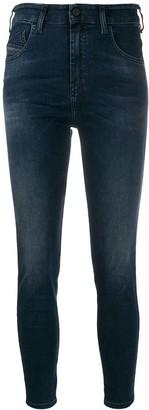 Diesel Slandy high-rise skinny jeans
