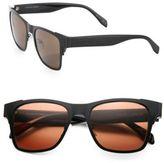 Alexander McQueen 53MM Square Glasses