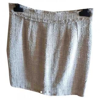 Dolce & Gabbana Beige Tweed Skirt for Women