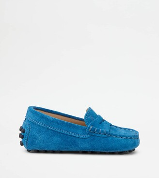 Tod's Junior Gommino Driving Shoes in Suede