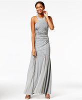 Say Yes to the Prom Juniors' Embellished Mermaid Gown, A Macy's Exclusive