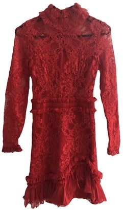 Alexis \N Red Lace Dress for Women