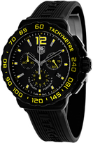Tag Heuer CAU111E.FT6024 Men's Formula 1 Black Silicone Watch with Chronograph