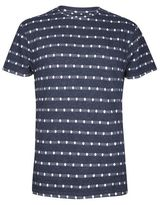 Burton Burton Bellfield Navy Spotty Jacquard T-shirt*