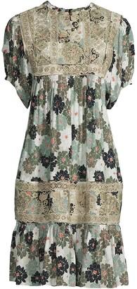 Nicole Miller Delilah floral-print dress
