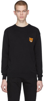 Moschino Black Teddy Sweater