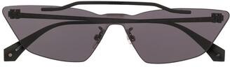 Off-White Metal Mask geometric frame sunglasses