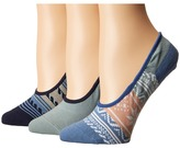 Sperry Fair Isle Canoe Liner 3-Pack