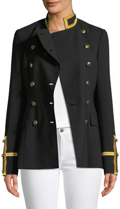 Ralph Lauren Bryer Double-Breasted Military-Style Jacket