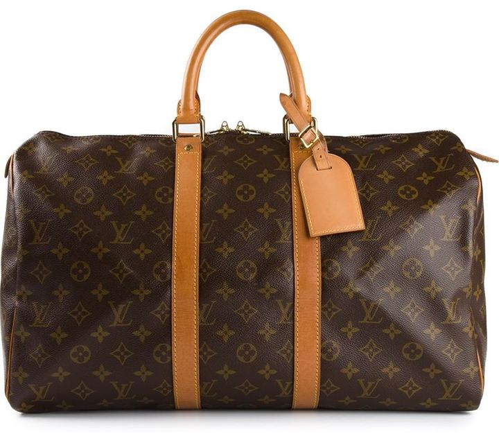 Louis Vuitton Vintage 'Keepall 45' tote