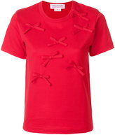 Comme des Garcons red bow T-shirt