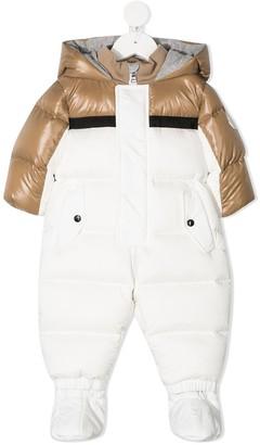 Moncler Enfant Colour Block Padded Suit