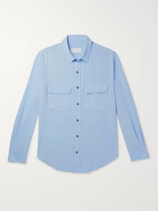 Equipment The Original Slim-Fit Silk-Crepe Shirt