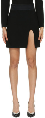 Magda Butrym Black Belted Tuxedo Skirt