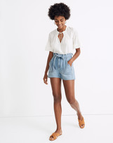 Madewell x Warm Tie High-Rise Denim Shorts