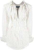 Jacquemus striped shirt dress