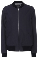 A.P.C. Cocao cotton bomber jacket