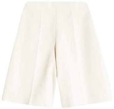 DELPOZO Tailored Cotton Bermuda Shorts