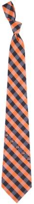 Cincinnati Bengals Woven Checkered Tie - Black/Orange