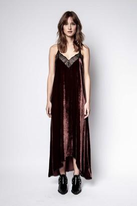 Zadig & Voltaire Risty Velvet Dress
