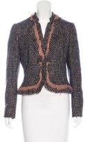 Moschino Tweed Wool Blazer