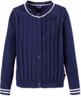 Tommy Hilfiger Mini-Cable Knit Cardigan, Big Girls