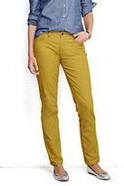 Classic Women's Pre-hemmed Mid Rise Straight Leg Corduroy Pants-Legume