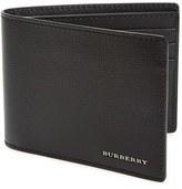 Burberry Men's 'New London' Calfskin Leather Bifold Wallet - Black