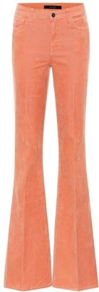 J Brand Valentina high-rise corduroy pants