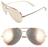 Oliver Peoples 'Sayer' 63mm Sunglasses